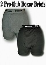 2 New PROCLUB men's underwear Boxer Briefs Pre-Packed PRO CLUB Size 3XL