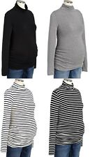 OLD NAVY Maternity Drapey Long Sleeve Turtleneck Stretch Top Shirt S,M,L,XL,2XL