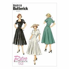 Butterick Retro 6018 50s Dress and Jacket NEW Retro Sewing Pattern V6018