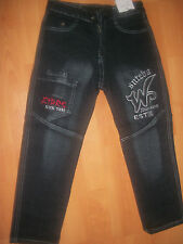 Boys  fabulous Embroidery work Elasticated Waist Jeans trouser  Age:  1-6 Yr new