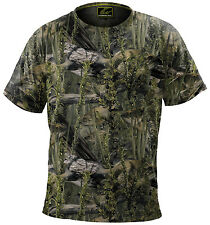 Fishouflage Performance 100% Polyester Bass Fishing Camo S/S T Shirt - NEW!
