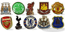 Official Football Crest Badge Pins Arsenal, Man U, Chelsea, Celtic & Much More