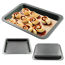 3-Size Stainless Steel Bakeware Non-Stick Sheet Tray Rectangular Jelly Roll Pan