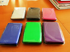 Great Aluminum RFID Protection Credit Card Wallet For Unisex Use  (New)