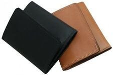 Amish Handmade Leather Trifold Wallet Lifetime Warranty