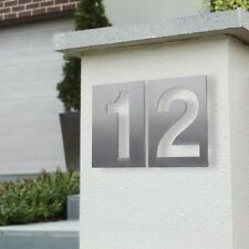 Milkcan Mailbox House Numeral Numbers 150mm Stainless Steel Stud Number Cut Out