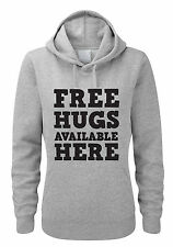 FREE HUGS AVAILABLE HERE - Novelty / Funny Themed Women's Hoody / Hoodies