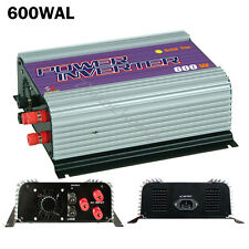 500 600W pure sine wave grid tie inverter for 10.8-30/22-60V DC/AC wind turbines