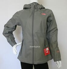 NEW THE NORTH FACE Women's Pare HyVent Rain Jacket Pache Grey  MSRP $129