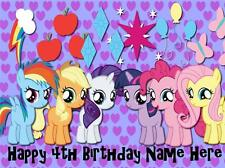 My Little Pony edible icing cake toppers!