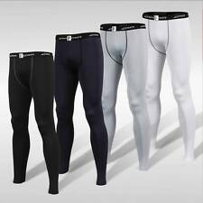 ATHLETE Mens Basic Thermal Lightweight Compression Sports Full Length Long Pants
