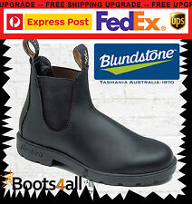 Blundstone Men Work Boots Black Leather Non Safety 510 30 Day Comfort Guarantee