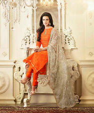 Designer Indian Pakistani Straight Long Beautiful Bollywood Casual Suits 25244