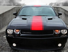 "09 10 12 2013 14 15 Dodge Challenger 14"" Twin Center Rally stripes Stripe Decals"