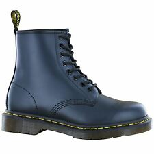 Dr.Martens 1460z Blue Leather Womens Boots - 11822411