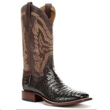 Lucchese Mens Since 1883 Cigar Hornback Caiman Boot M4539 NIB New