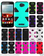 Dynamic Tuff Hybrid Soft Hard Layers Shockproof Cell Phone Protector Case Cover
