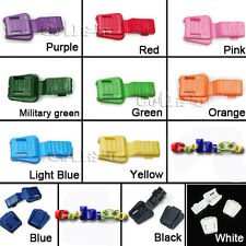 Colorful Zipper Pull Cord Ends cord lock for paracord Accessories