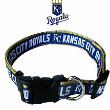 MLB Fan Gear KANSAS CITY ROYALS Nylon Collar for Dog Dogs Puppy Puppies