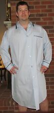 """Nightshirt Men's 46"""" Cotton Broadcloth 'Made in USA'"""