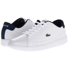 Lacoste Mens Carnaby Ca Shoes Sneakers Tennis Mens Fashion White Medium
