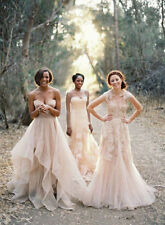 Cap Sleeve Bridal Gowns Custom Made Size/Color Vintage Lace Wedding Dresses