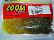 "ZOOM U TAIL 6"" SOFT PLASTIC FISHING BAITS VARIOUS COLOURS"