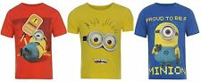 Boys Despicable Me 2 Me2 Fancy Dress T-Shirt Short Sleeve Top~ Ages 2-8 years