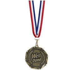 Well Done Medals & Ribbons AM906G - Engraved FREE with your message - Free P+P