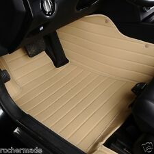 RocherMade Luxury All Weather Leather Car Floor Mats For Land Rover LR4