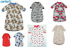 Baby Sleeping Bags Boys Girls Carters 0 - 9 Months Quality 6 Designs Soft Cute