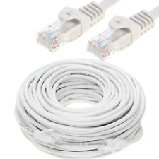 CAT5 CAT5E Ethernet Lan Network Cable 5ft 15ft 25ft 30ft 50ft 100ft 200ft LOT