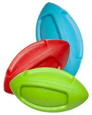 Jw Pet Squeak Funble Football Natural Rubber Asst Colors - Free Shipping