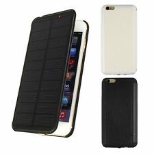 Solar Power Backup External Battery Emergency Charger Case for iPhone 6 / 6 Plus