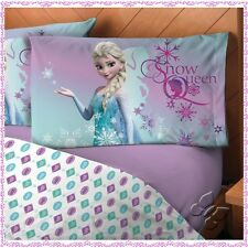 New Girls Frozen Snow Queen Sheet Set Twin/Full/Queen