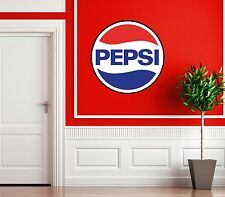 LARGE PEPSI COLA SIGN PICTURE STICKER USA SOFT DRINK HOUSE TEA CATERING LOGO