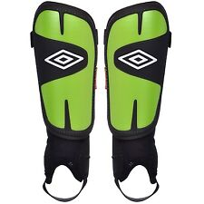New Umbro Geometra Youth Shin Guard Soccer Small-Large Green/Black