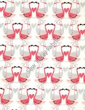 Flamingo Love - Michael Miller Fabrics - PC6744-FLMG-D (sold by the 1/2 yard)