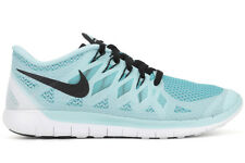 Nike Free 5.0 642199 402 New Womens Ice Cube Blue Clearwater Black Running Shoes