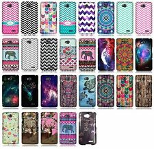 For Verizon LG Optimus Exceed 2 VS450 Glossy Protector Hard Cover Phone Case