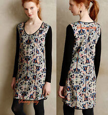 NEW Anthropologie Painted Symmetry Tunic By HD in Paris sz 2 2P 6P $148 NIP USA