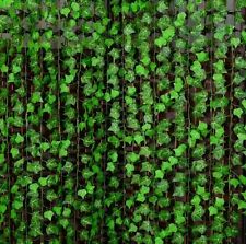 Home Decor Green Plant Ivy Leaf Artificial Flower Plastic Garland Vine Foliage