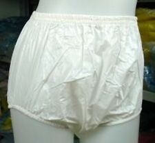 3 * ADULT BABY PLASTIC PANTS PVC incontinence #P005-1
