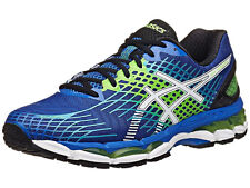 ASICS Mens GEL-Nimbus 17 Running Shoes Royal White FLS Green T507N 5901 All Size