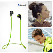 Wireless Bluetooth 4.1 Stereo Earbuds Headset Mic for iPhone 6 Samsung LG