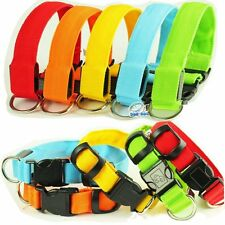 Cute LED Dog Pet Safety Pet Flashing Light Adjustable Cat Nylon Collar Leash New