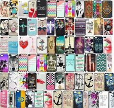 Cute Colorful Hybrid Hard Back Case Cover Skin For iPhone 4 4S 5 5S 5C 6 6 Plus