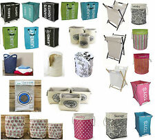 STRONG POP UP LAUNDRY HAMPER BIN BAG BASKET CLOTHES WASH WASHING TOY STORAGE NEW