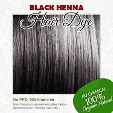 Black Henna Hair Dye - 100% Organic and Chemical free Henna for Hair Color
