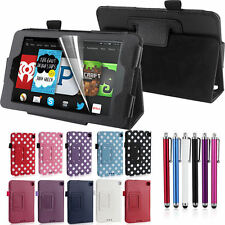 "Fire HD 6 Case For 2014 Amazon Kindle 6"" Tablet Slim Leather Smart Case Cover"